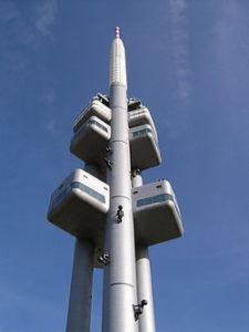 250px Žižkov tv tower 225x300 Žižkovský vysílač