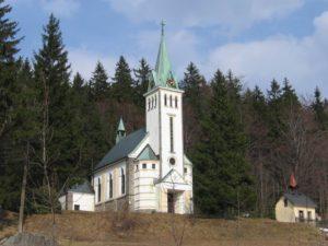 Kostel original 300x225 Obec Bedřichov