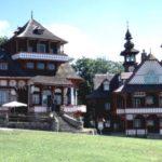 Pustevny v Moravskoslezských Beskydech