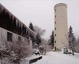 1 Libin Rozhledna Libín, dříve také Rudolfova věž