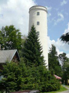 libin01 225x300 Rozhledna Libín, dříve také Rudolfova věž