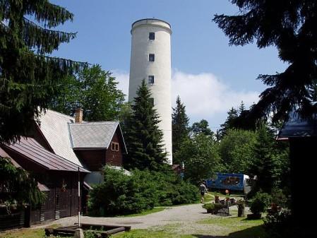 rozhledna Rozhledna Libín, dříve také Rudolfova věž
